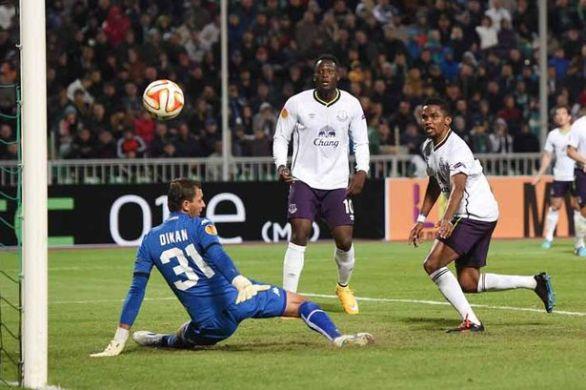 Samuel Eto goal