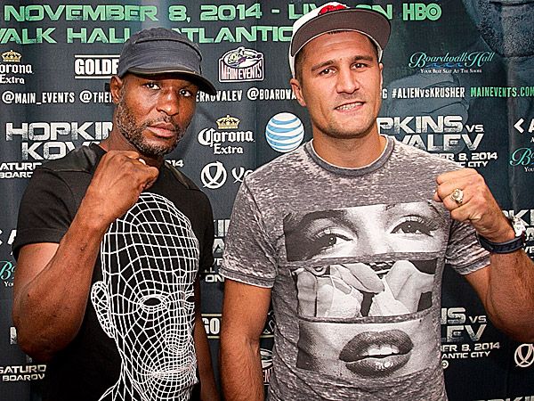 Bernard Hopkins Will Be Putting His Two Titles On The Line This Saturday Night Against Sergey Kovalev