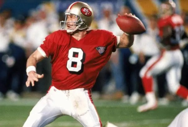 Young Had To Learn To Be A Classic Pocket Passer But Did And Eventually Became A Hall Of Famer For That.