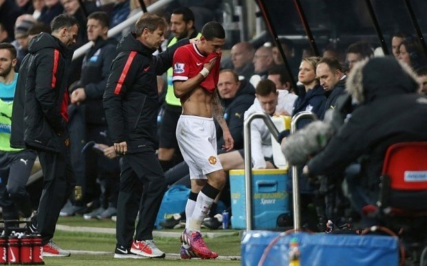 Di Maria Substituted Against Newcastle United