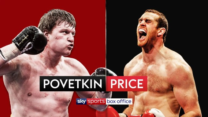 Alexander Povetkin David Price