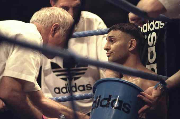 Naseem Hamed And Brendan Ingle 1