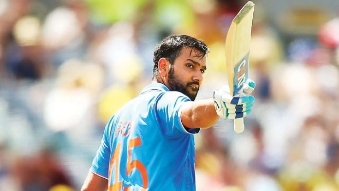 Rohit Sharma Shines for India