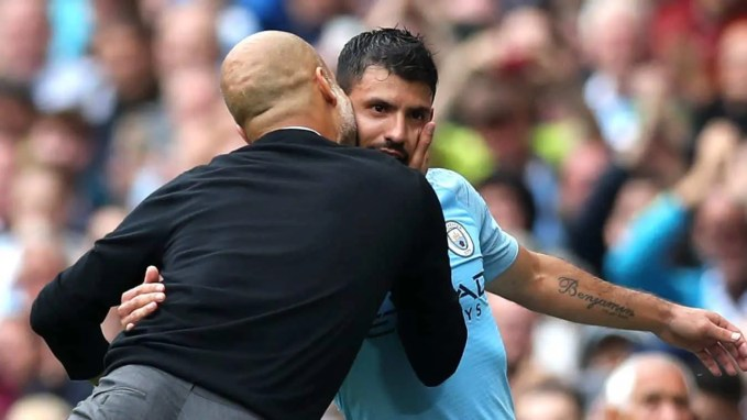 Aguero And Guardiola