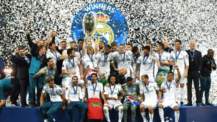 real madrid europena champions 2018