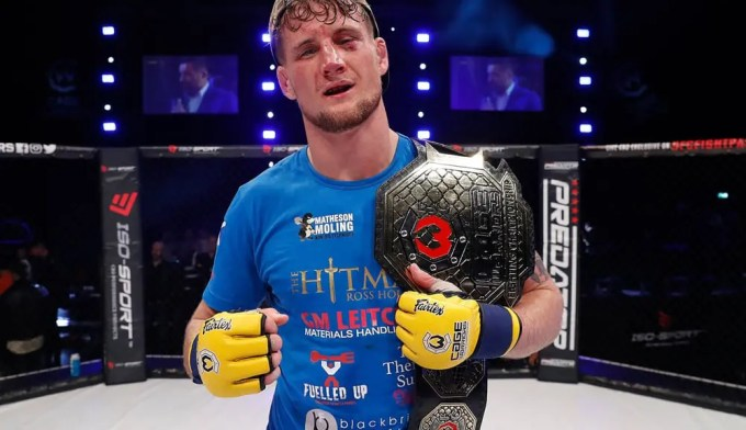 Ross Houston Cage Warriors 98 Win