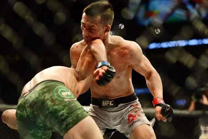 Chan Sung Jung Yair Rodriguez Ufc Fight Night 1391
