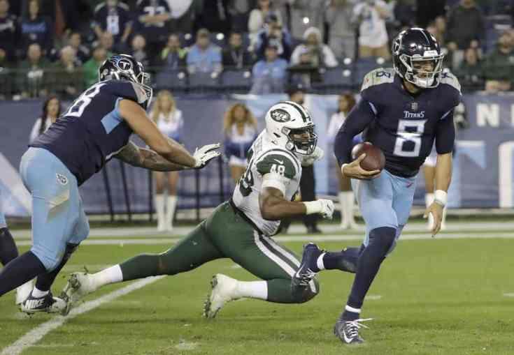 Titans Jets Mariota
