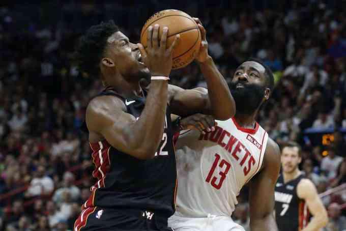 Miami Heat Use Historic Early Lead To Demolish Houston Rockets