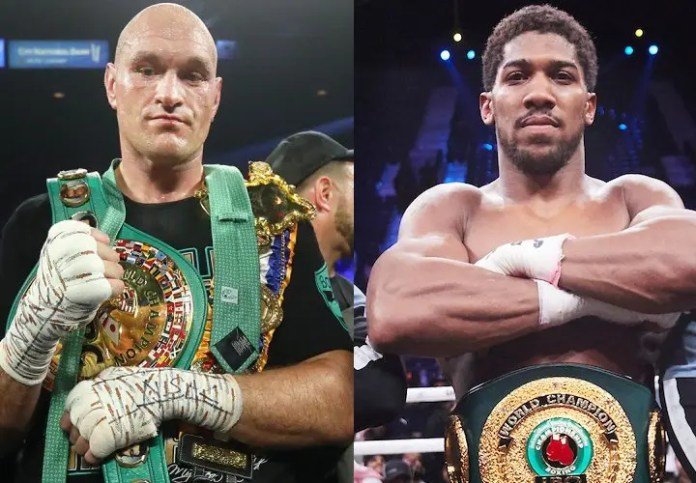 Anthony Joshua & Tyson Fury agree two-fight deal