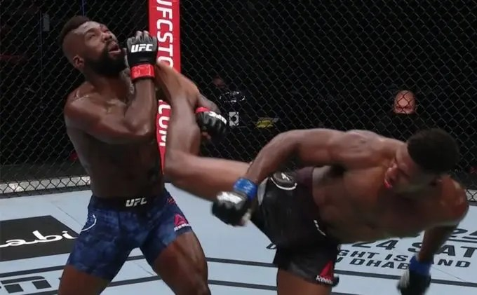 Mma - Joaquin Buckley Kick
