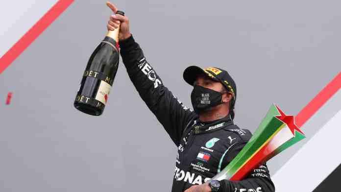 Lewis Hamilton wins Portuguese Grand Prix