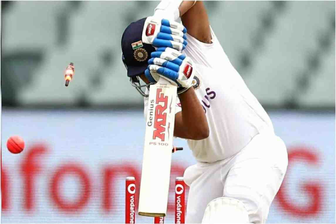 Prithvi Shaw Was Bowled Through The Gate In Both The Innings