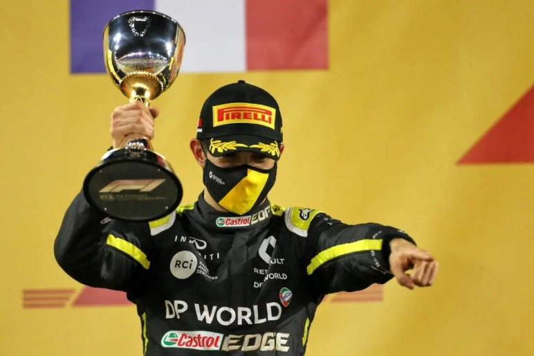 Esteban Ocon'S First Podium Went Under The Radar Amongst Other Headlines