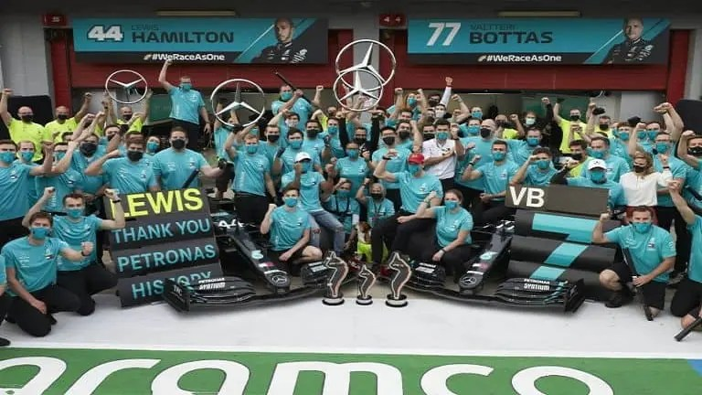 Mercedes Have Already Racked Up 7 Consecutive Titles