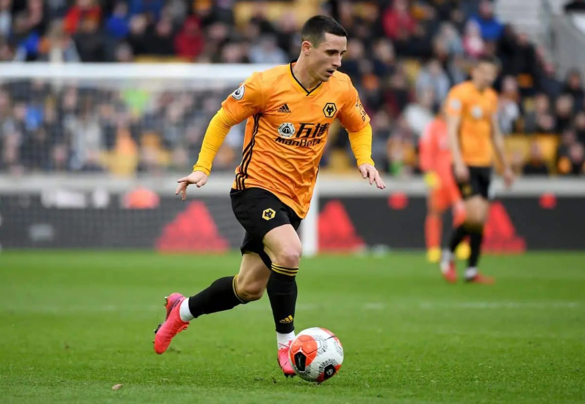 Daniel Podence Of Wolverhampton