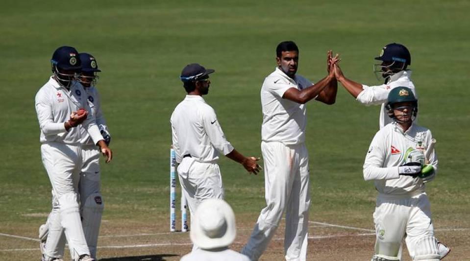 Ashwin Made Early Inroads Into The Australian Batting Unit