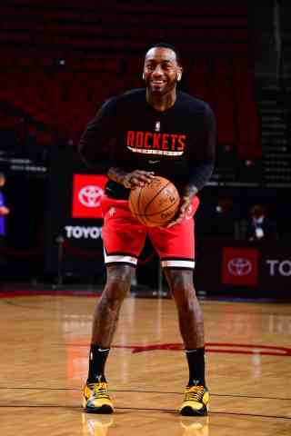 John Wall Warming Up For Houston
