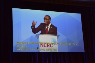 President & CEO Brooks of NAACP speaks | Photo by WID