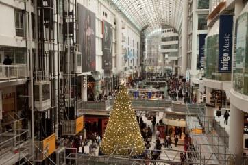 Eatons Center Christmas Tree