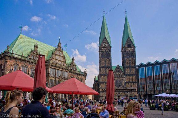 Рыночная площадь в Бремене