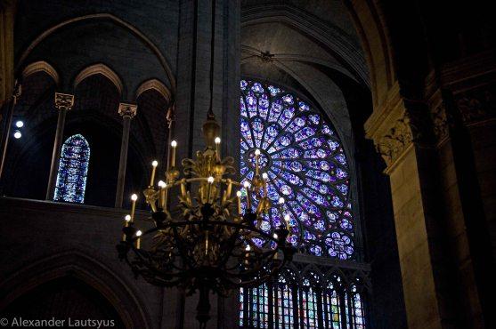 Собор Парижской Богоматери - элементы интерьера