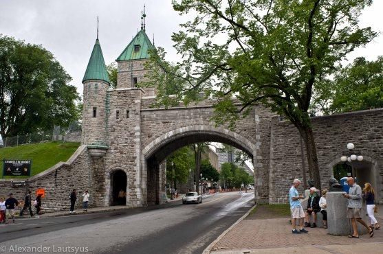 Квебек - ворота в старый город
