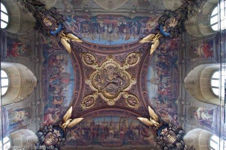 Плафон в Лувре