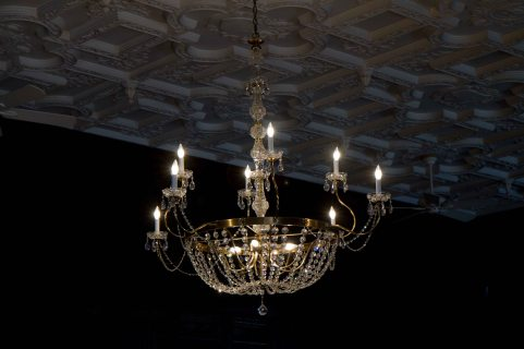 Electrical lighting in Casa Loma
