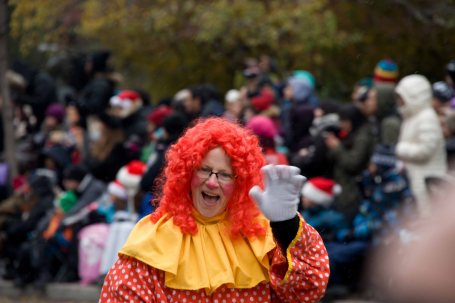Red Hair Clown Woman