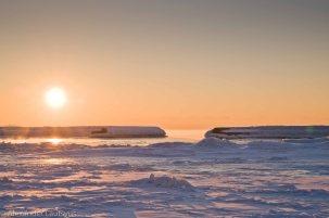 Frozen Lake Ontario