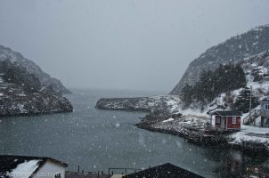 Snow at the Harbour Quide Vidi