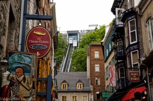 The funicular - Quebec City