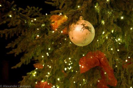 Christmas tree raindeer decoration