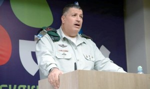 Coordinator of Government Activities in Judea and Samaria Maj.-Gen. Yoav Mordechai