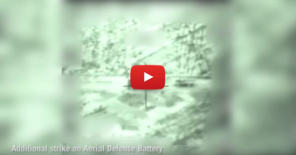 WATCH: IDF pounds Syrian air defense battery