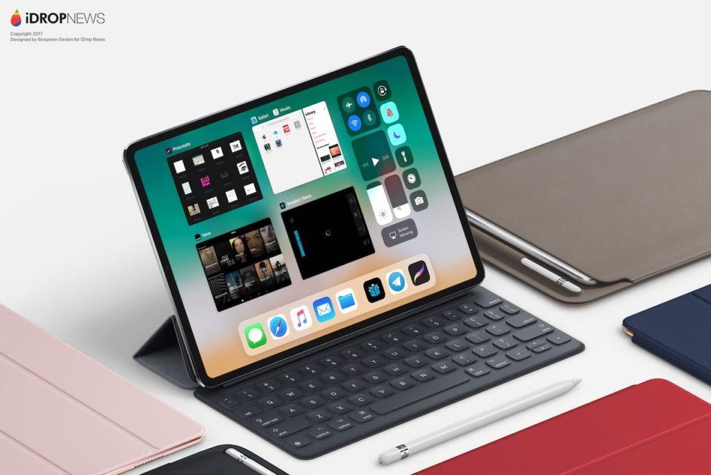 Ipad Pro Un Concept Inspiré De Liphone X Imagine Le