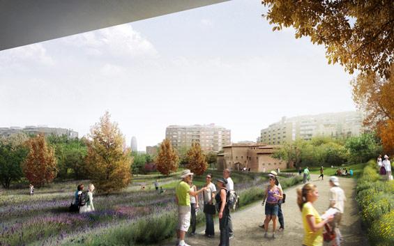 La Sagrera Linear Park-West 8