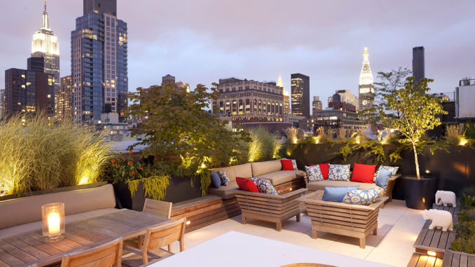 Rooftop Garden Escape Tricia Martin Amp Winston Ely WE