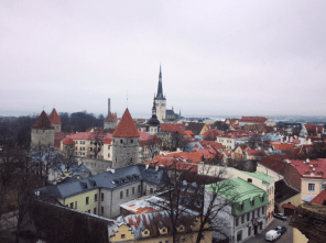 Tallinn from a viewing point in the Old Town