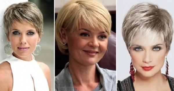 Стрижки женщин после 50 лет 2022 прически волос с фото ...