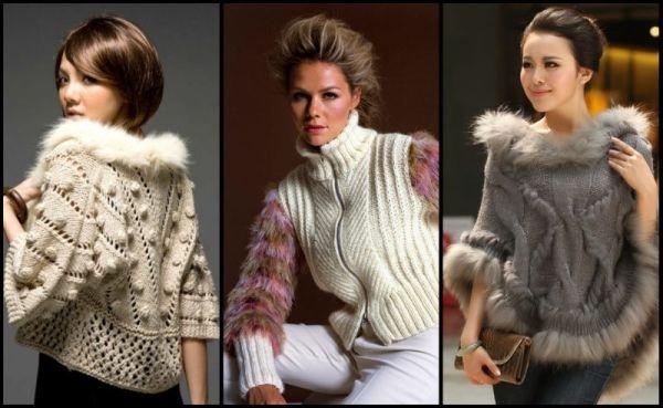 Жилеты 2019 модные, вязанные спицами женские жилетки с фото