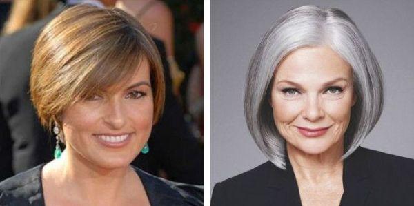 Стрижки женщин после 50 лет 2020 прически волос с фото ...