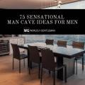 75 Man Cave Ideas