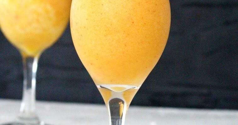 Peach and Mango Daiquiri