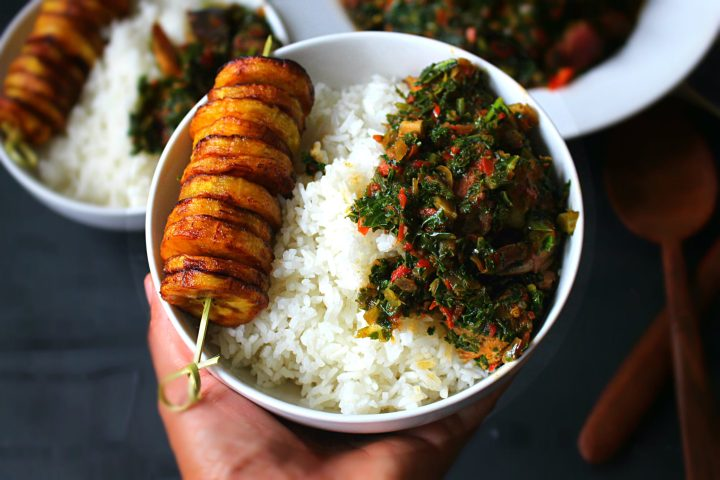 Kale stew-Africa Style