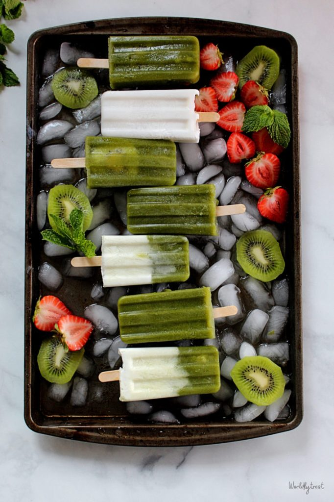 HOW TO MAKE HOMEMADE POPSICLE RECIPE