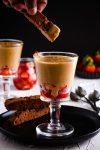Classic Italian cream custard Zabaglione