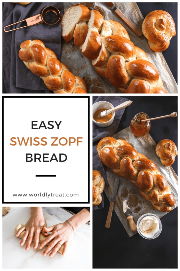 Easy Zopf Bread