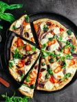 anchovy veggie pizza